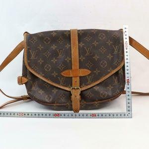 authentic Louis Vuitton Shoulder Bag Saumur 30